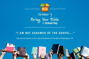 Bring Your Bible To School Day October 3, 2019