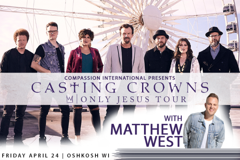Casting Crowns in Oshkosh