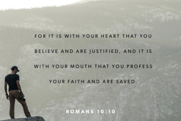 April 11th – Romans 10:10