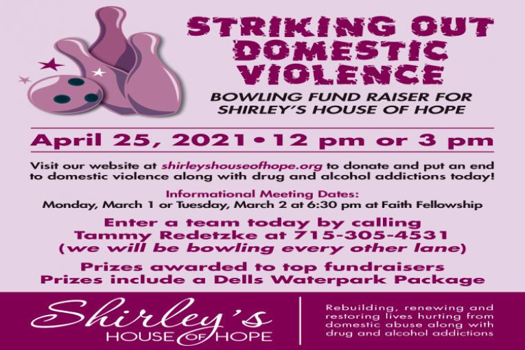 Shirley's House of Hope Bowling Fundraiser