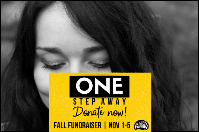 Fall Fundraiser One Step Away